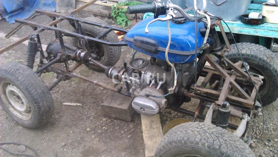 Квадроцикл из мотоцикла 18