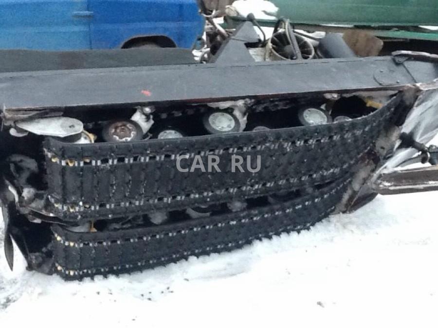 Ремонт ходовой части снегохода буран 135