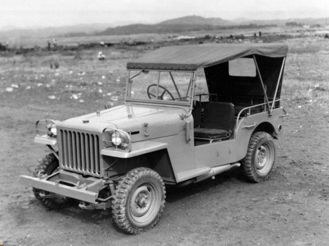 Toyota Land Cruiser: история от войны до наших дней 5