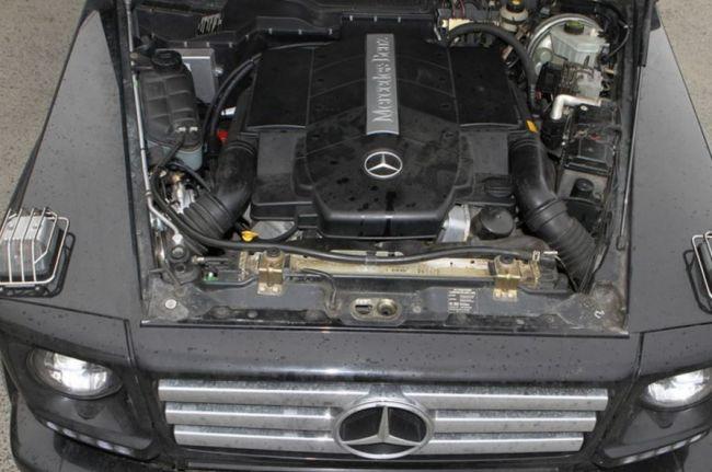 О двигателях для Mercedes-Benz G-Class 2