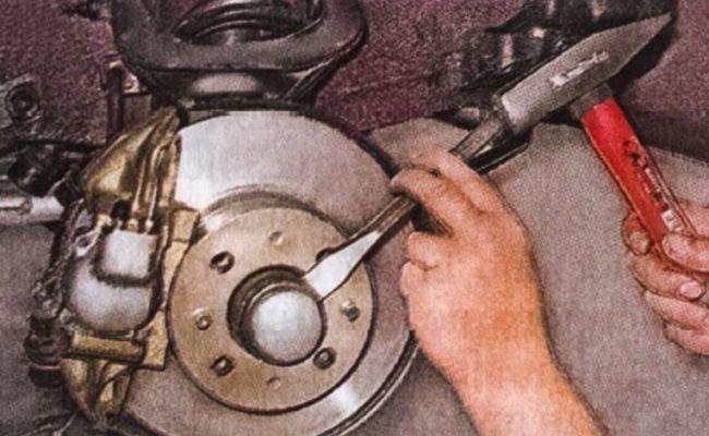 Замена подшипника ступицы и рекомендации по работе 3