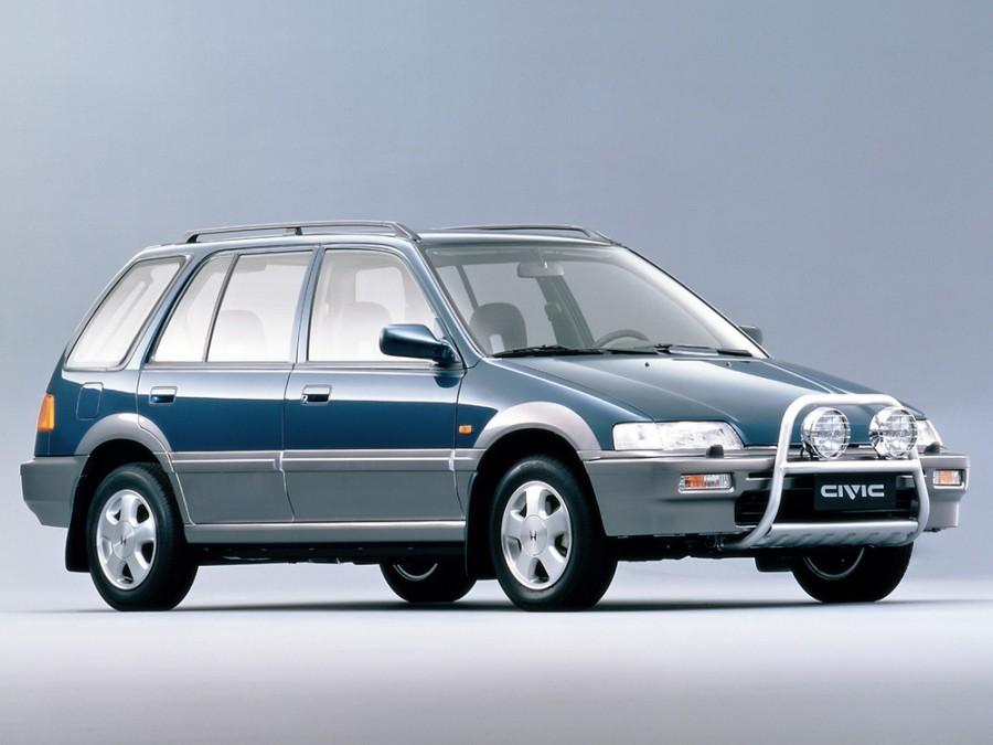 Honda Civic Beagle универсал 5-дв., 1987–1996, 4 поколение - отзывы, фото и характеристики на Car.ru