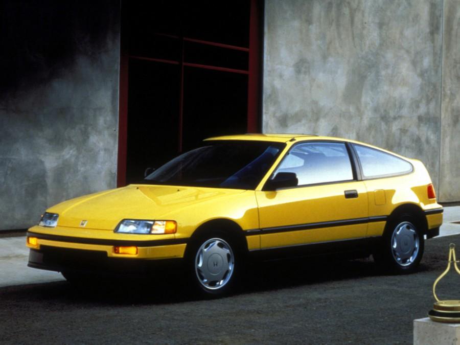 Honda CR-X хетчбэк, 1987–1992, 2 поколение - отзывы, фото и характеристики на Car.ru
