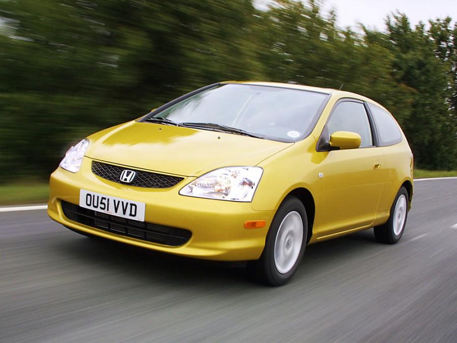 Honda Civic Si хетчбэк 3-дв., 2000–2005, 7 поколение - отзывы, фото и характеристики на Car.ru