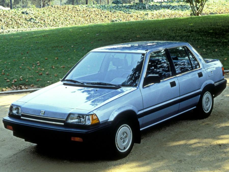 Honda Civic седан, 3 поколение - отзывы, фото и характеристики на Car.ru