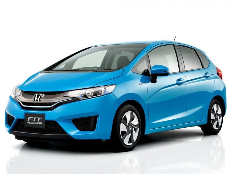 Honda Fit Hybrid хетчбэк 5-дв., 2013–2016, 3 поколение - отзывы, фото и характеристики на Car.ru