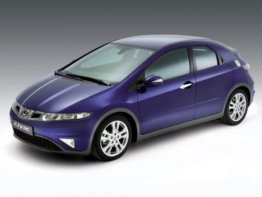 Honda Civic хетчбэк 5-дв., 2007–2011, 8 поколение [рестайлинг] - отзывы, фото и характеристики на Car.ru