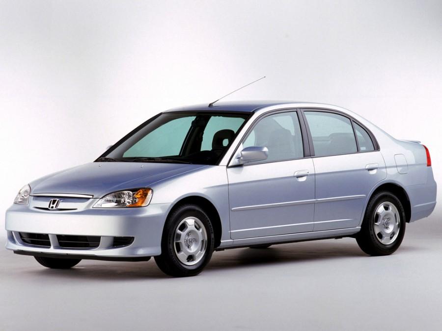 Honda Civic Hybrid седан 4-дв., 2000–2005, 7 поколение - отзывы, фото и характеристики на Car.ru