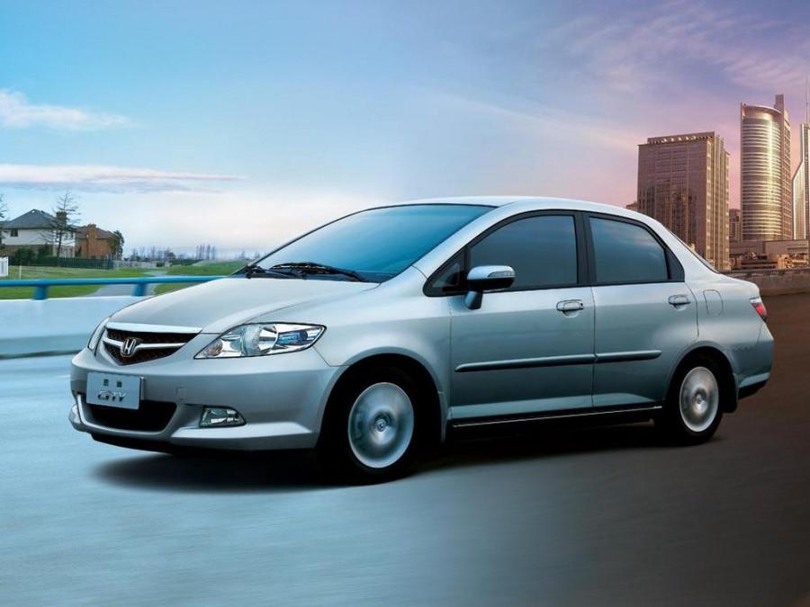 Honda City седан, 2005–2008, 4 поколение [рестайлинг] - отзывы, фото и характеристики на Car.ru
