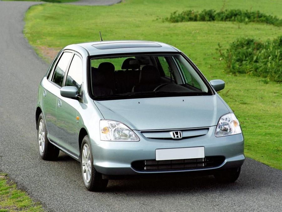 Honda Civic хетчбэк 5-дв., 2000–2005, 7 поколение - отзывы, фото и характеристики на Car.ru