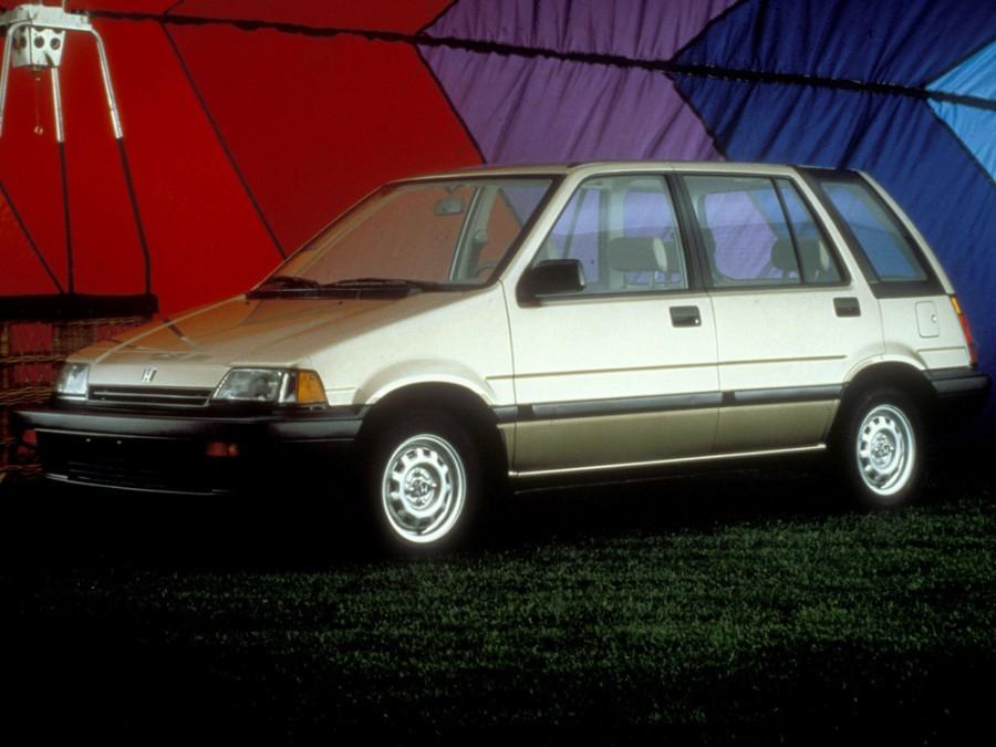 Honda Civic Shuttle универсал 5-дв., 3 поколение - отзывы, фото и характеристики на Car.ru