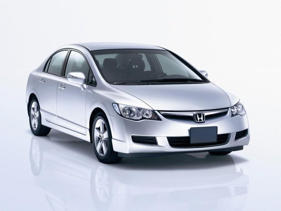 Honda Civic седан 4-дв., 2005–2008, 8 поколение - отзывы, фото и характеристики на Car.ru