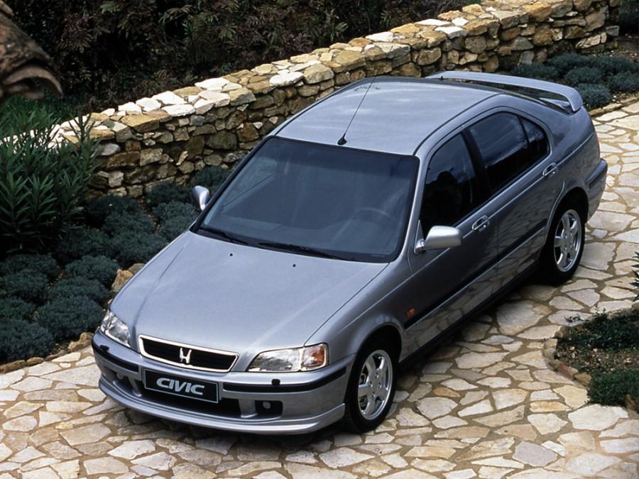 Honda Civic лифтбэк, 1995–2001, 6 поколение - отзывы, фото и характеристики на Car.ru
