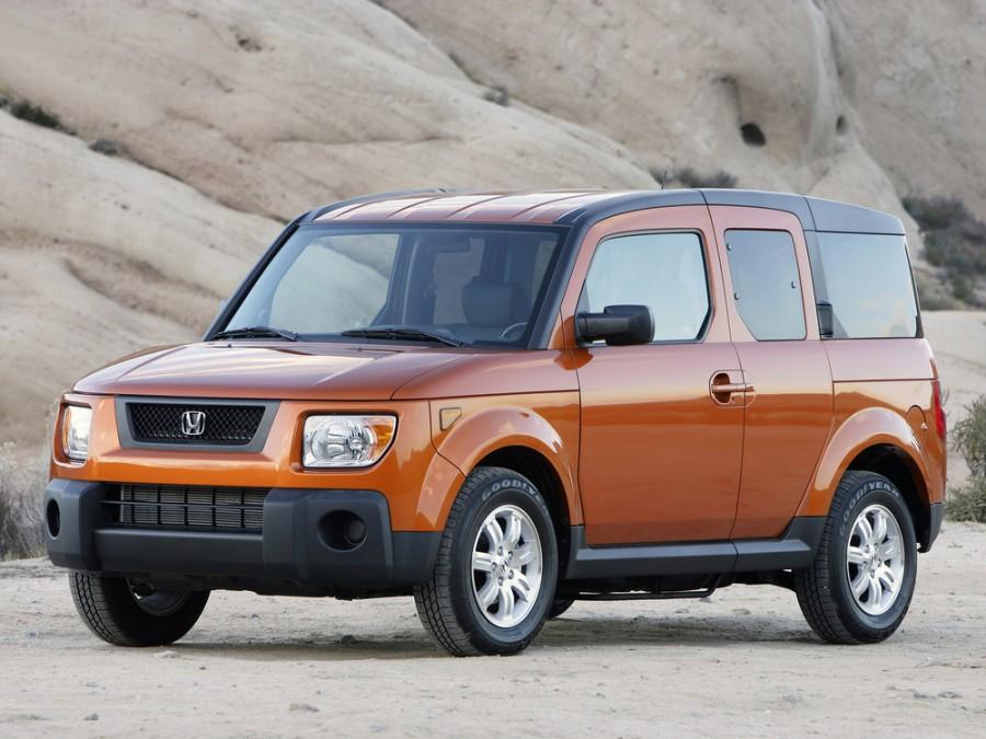 Honda Element кроссовер 5-дв., 2006–2008, 1 поколение [рестайлинг] - отзывы, фото и характеристики на Car.ru