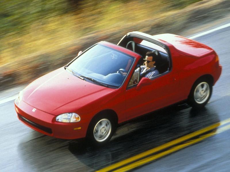 Honda CR-X Del Sol тарга 2-дв., 1992–1999, 3 поколение - отзывы, фото и характеристики на Car.ru