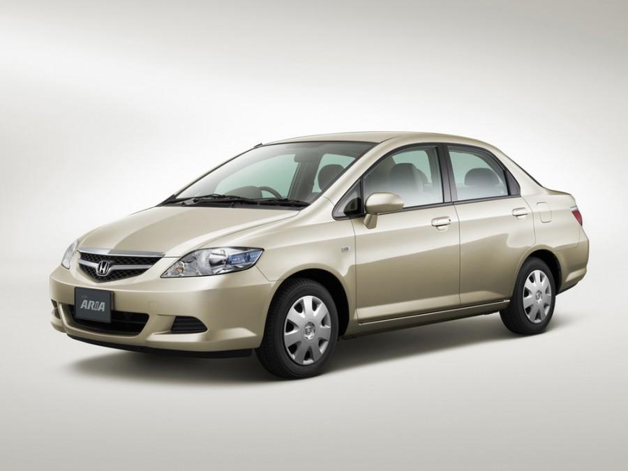 Honda Fit Aria седан, 2005–2008, 1 поколение [рестайлинг] - отзывы, фото и характеристики на Car.ru