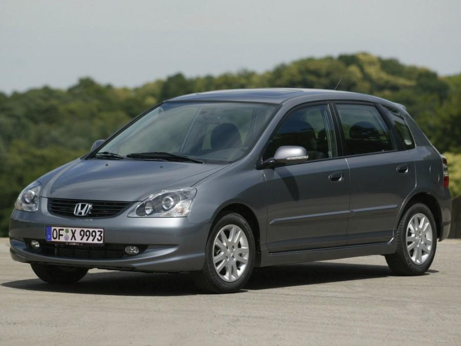 Honda Civic хетчбэк 5-дв., 2003–2005, 7 поколение [рестайлинг] - отзывы, фото и характеристики на Car.ru