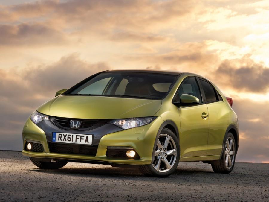 Honda Civic хетчбэк 5-дв., 2012–2016, 9 поколение - отзывы, фото и характеристики на Car.ru