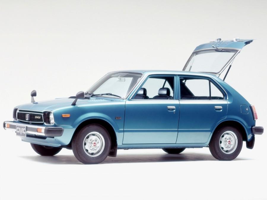 Honda Civic хетчбэк 5-дв., 1 поколение - отзывы, фото и характеристики на Car.ru