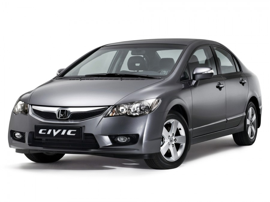 Honda Civic седан, 2007–2011, 8 поколение [рестайлинг] - отзывы, фото и характеристики на Car.ru