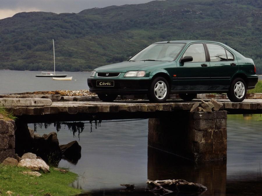 Honda Civic лифтбэк, 1991–1997, 5 поколение - отзывы, фото и характеристики на Car.ru