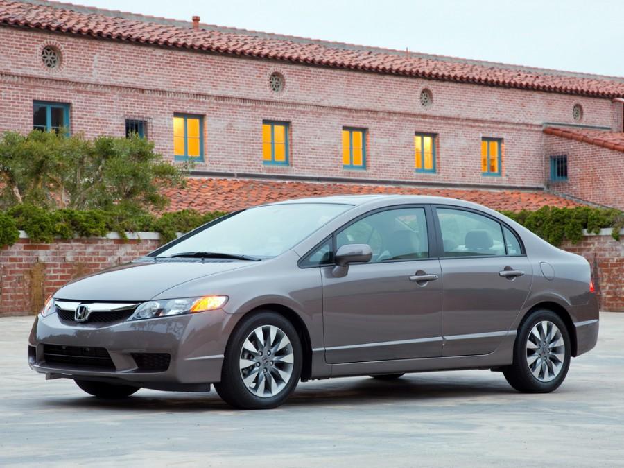 Honda Civic US-spec седан 4-дв., 2007–2011, 8 поколение [рестайлинг] - отзывы, фото и характеристики на Car.ru