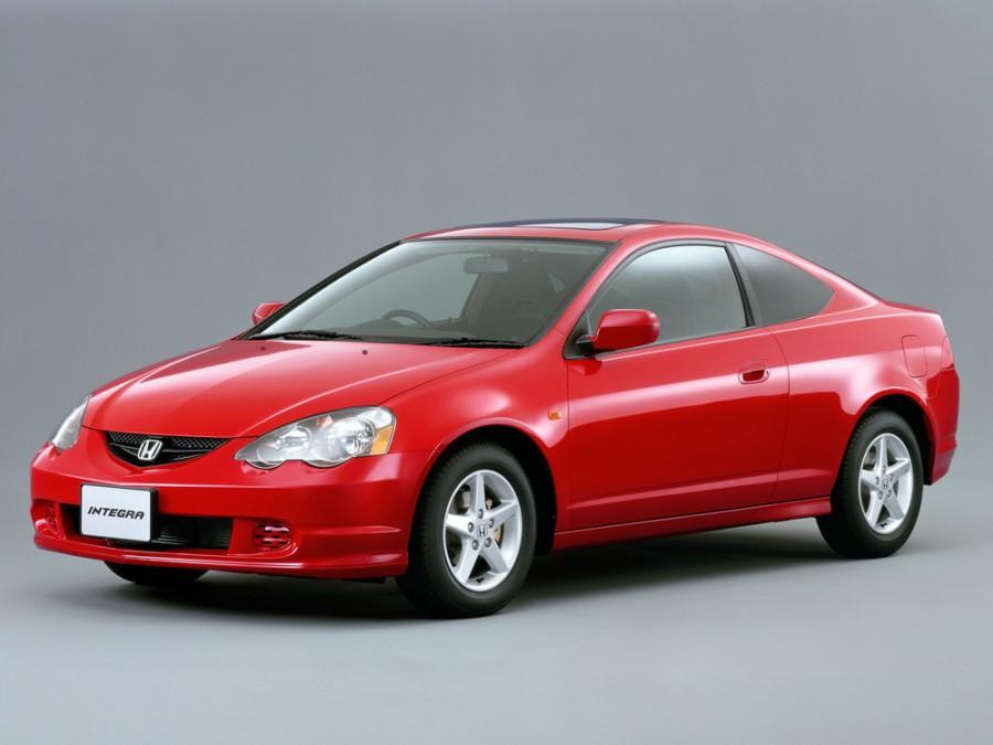 Honda Integra купе 2-дв., 2001–2004, 4 поколение - отзывы, фото и характеристики на Car.ru