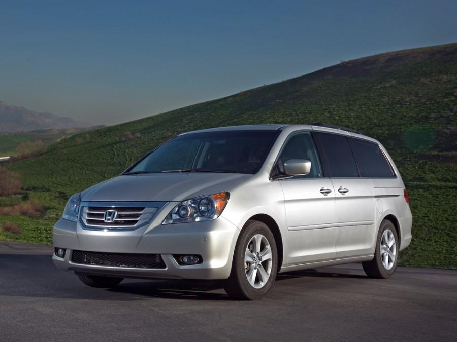 Honda Odyssey US-spec минивэн, 2007–2010, 3 поколение [рестайлинг] - отзывы, фото и характеристики на Car.ru