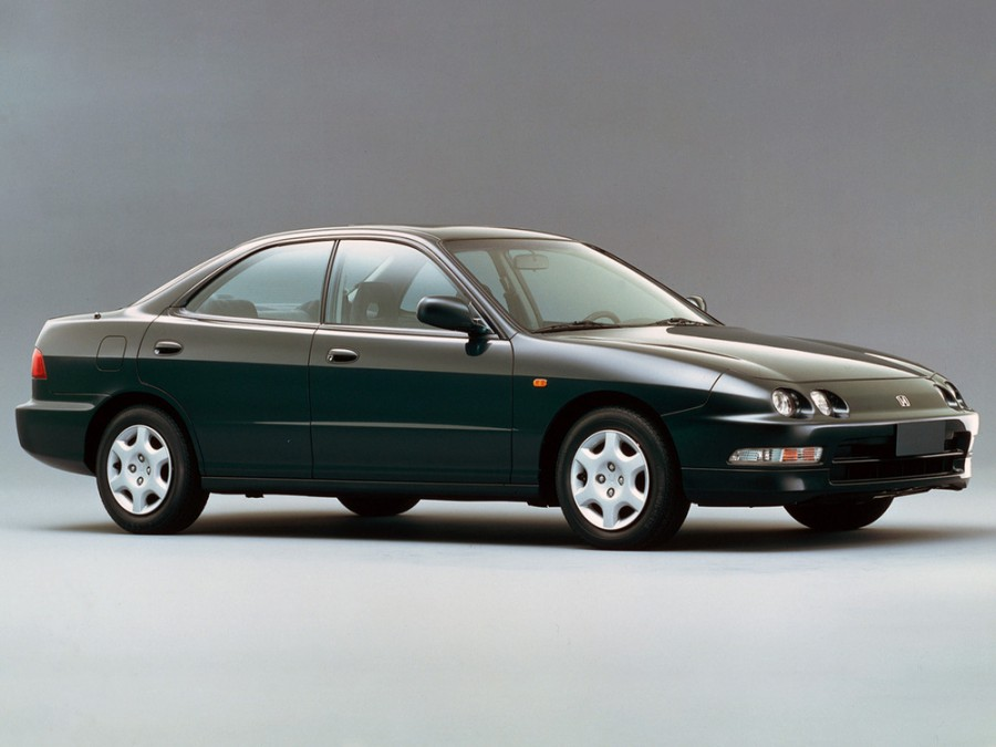 Honda Integra седан, 1993–1995, 3 поколение - отзывы, фото и характеристики на Car.ru