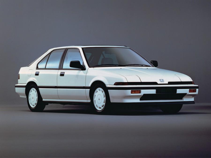 Honda Integra лифтбэк, 1985–1989, 1 поколение - отзывы, фото и характеристики на Car.ru
