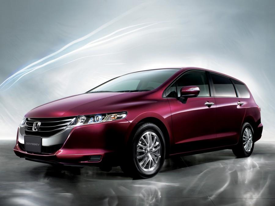 Honda Odyssey минивэн 5-дв., 2009–2016, 4 поколение - отзывы, фото и характеристики на Car.ru