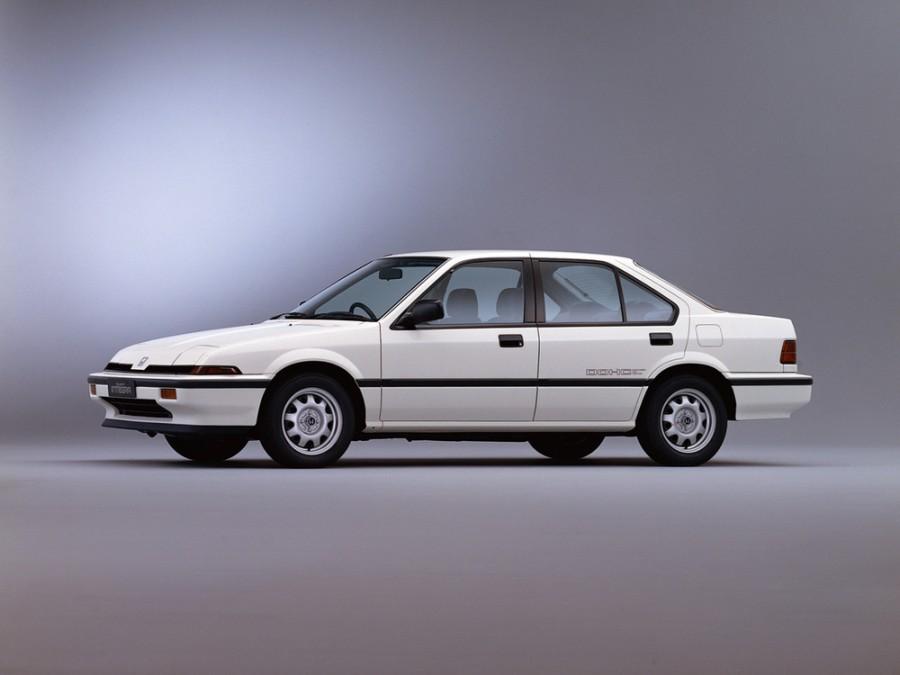 Honda Integra седан, 1985–1989, 1 поколение - отзывы, фото и характеристики на Car.ru
