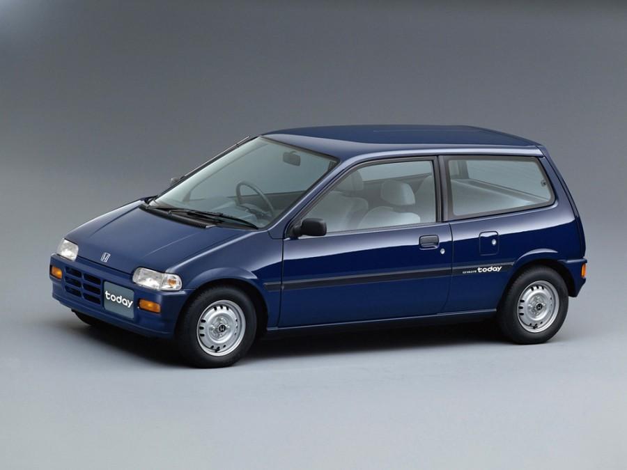 Honda Today хетчбэк, 1988–1996, 1 поколение - отзывы, фото и характеристики на Car.ru