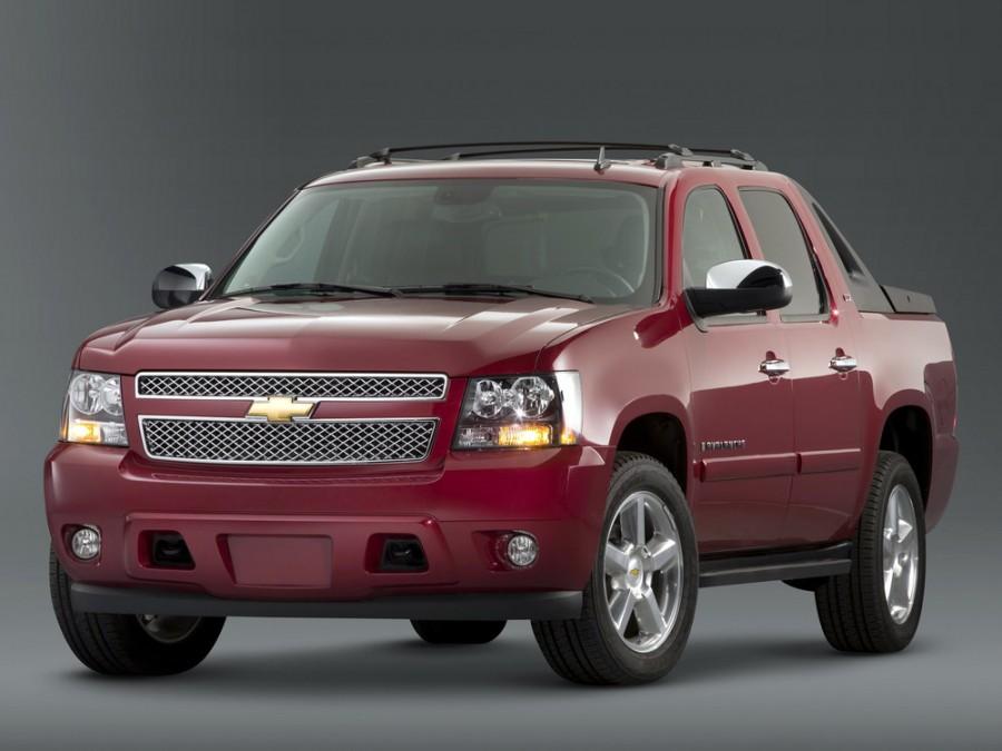 Chevrolet Avalanche пикап, 2007–2016, 2 поколение - отзывы, фото и характеристики на Car.ru
