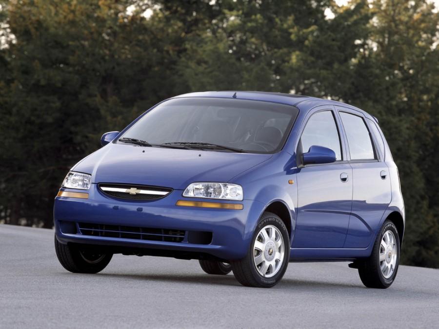 Chevrolet Aveo хетчбэк 5-дв., 2003–2008, T200 - отзывы, фото и характеристики на Car.ru