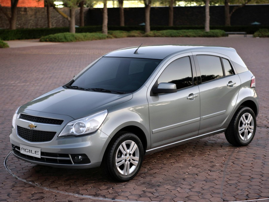 Chevrolet Agile хетчбэк, 2009–2016, 1 поколение - отзывы, фото и характеристики на Car.ru