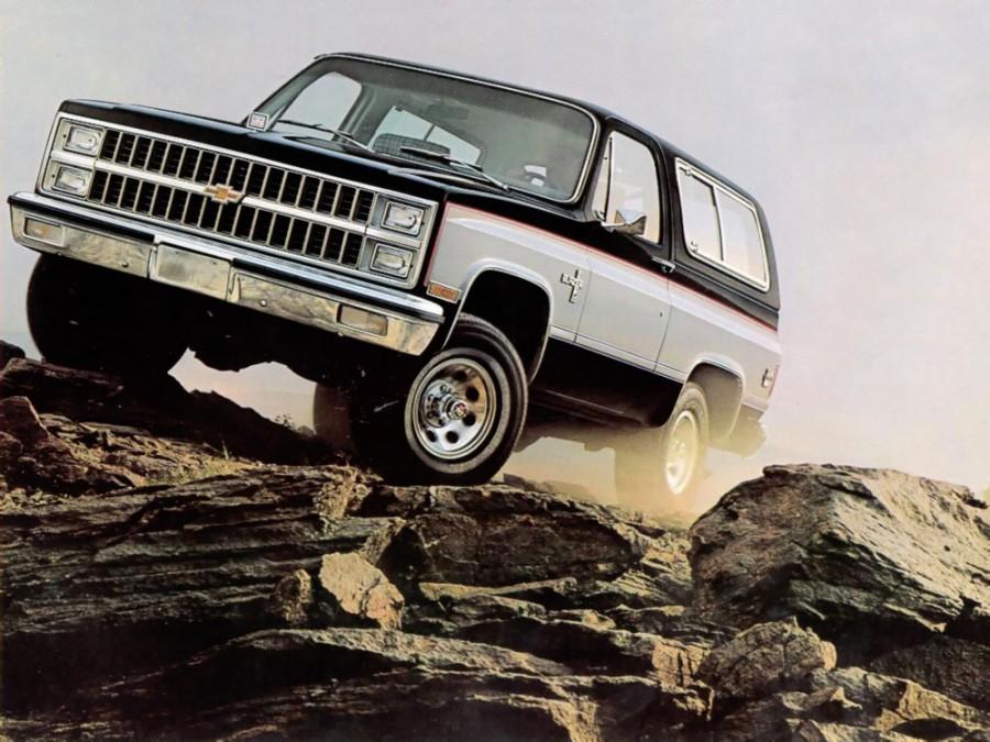 Chevrolet Blazer внедорожник, 3 поколение - отзывы, фото и характеристики на Car.ru