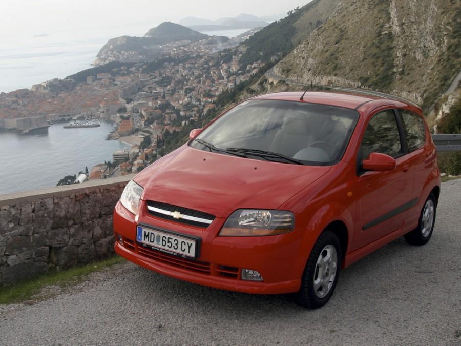Chevrolet Aveo хетчбэк 3-дв., 2003–2008, T200 - отзывы, фото и характеристики на Car.ru