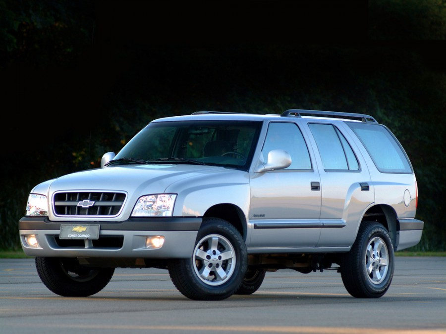 Chevrolet Blazer BR-spec внедорожник, 2003–2008, 5 поколение - отзывы, фото и характеристики на Car.ru