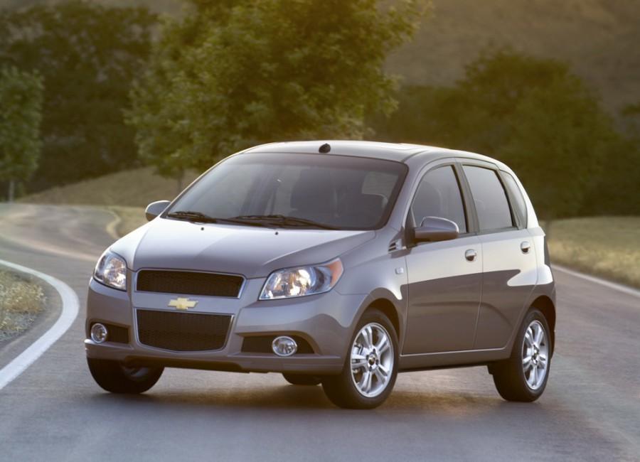 Chevrolet Aveo хетчбэк 5-дв., 2006–2011, T250 [рестайлинг] - отзывы, фото и характеристики на Car.ru