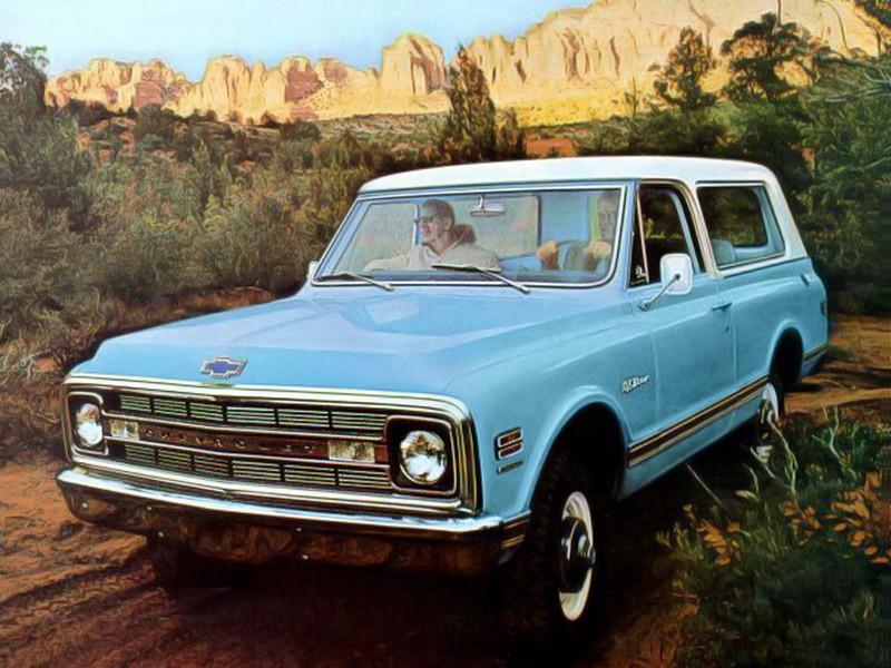 Chevrolet Blazer внедорожник, 1 поколение - отзывы, фото и характеристики на Car.ru