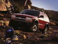 Chevrolet Blazer, 4 поколение [рестайлинг], Внедорожник 3-дв., 1997–2005