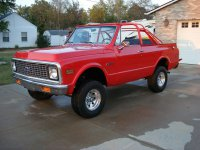 Chevrolet Blazer, 2 поколение, Convertible внедорожник 3-дв.