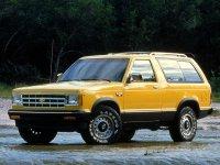 Chevrolet Blazer, 3 поколение [2-й рестайлинг], S-10 внедорожник 3-дв.