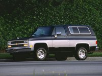 Chevrolet Blazer, 3 поколение [3-й рестайлинг], K5 внедорожник 3-дв.