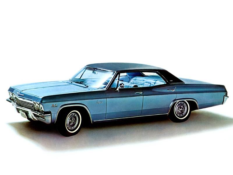 Chevrolet Caprice Sport Sedan хардтоп, 1965, 1 поколение - отзывы, фото и характеристики на Car.ru