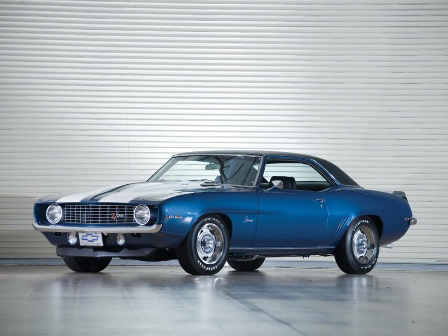 Chevrolet Camaro Z28 купе 2-дв., 1969, 1 поколение [2-й рестайлинг] - отзывы, фото и характеристики на Car.ru