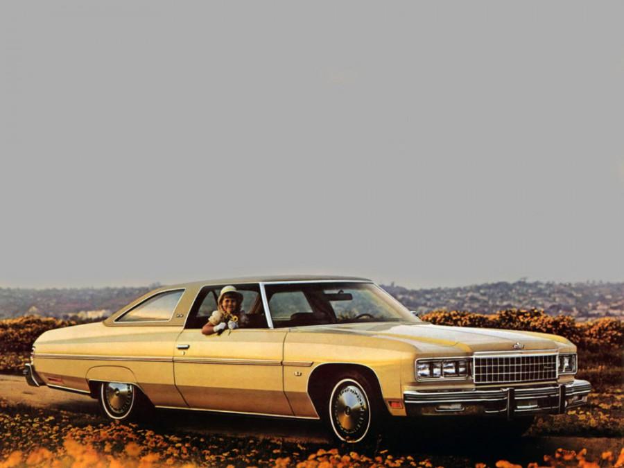 Chevrolet Caprice Custom Coupe купе, 1976, 2 поколение [5-й рестайлинг] - отзывы, фото и характеристики на Car.ru