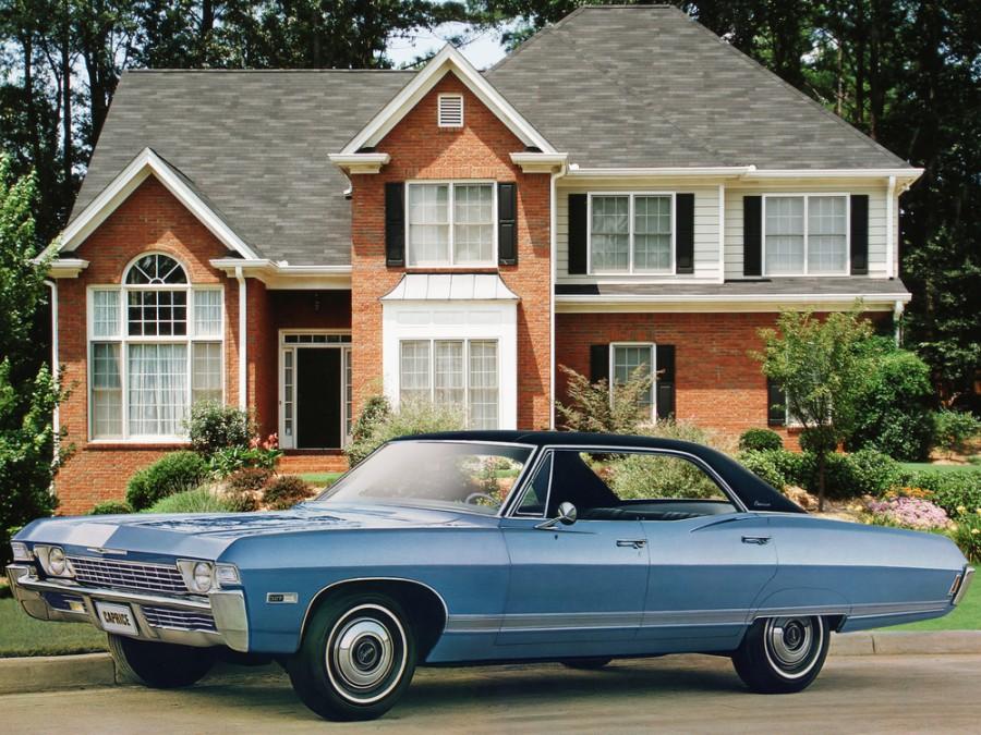 Chevrolet Caprice Sport Sedan хардтоп 4-дв., 1968, 1 поколение [3-й рестайлинг] - отзывы, фото и характеристики на Car.ru