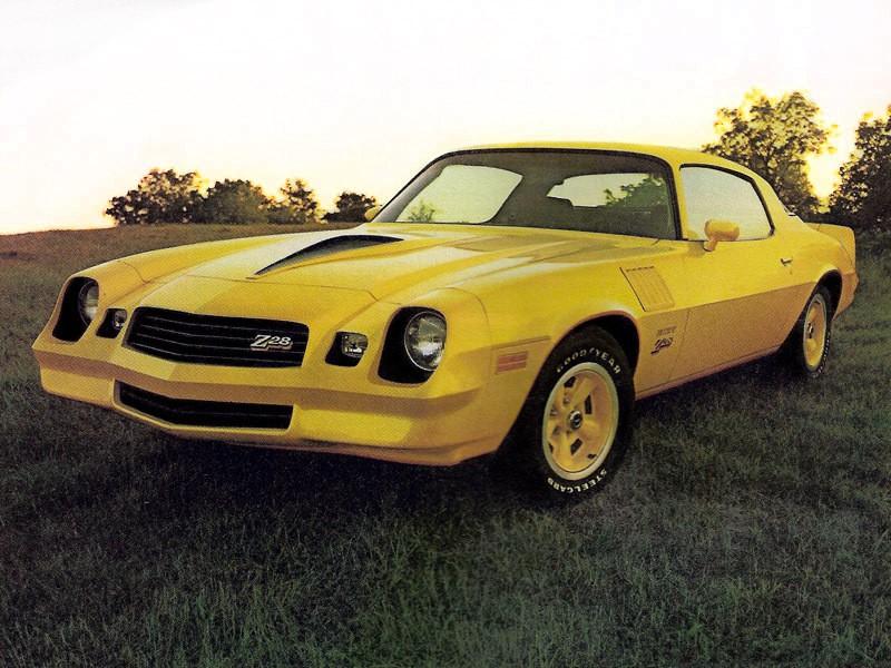 Chevrolet Camaro Z28 купе 2-дв., 1978–1981, 2 поколение [2-й рестайлинг] - отзывы, фото и характеристики на Car.ru